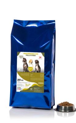 Crocchette cibo secco per cani adulti performance