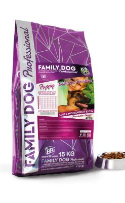 Crocchette alimento completo cibo secco per cani cuccioli salmone grain free