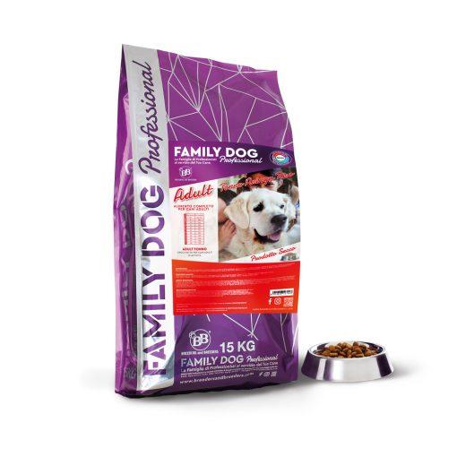 Alimento completo crocchette cibo secco per cani adulti in attività a base di Tonno Aringa e Riso