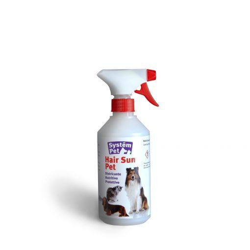 lozione spray per il pelo del cane e gatto